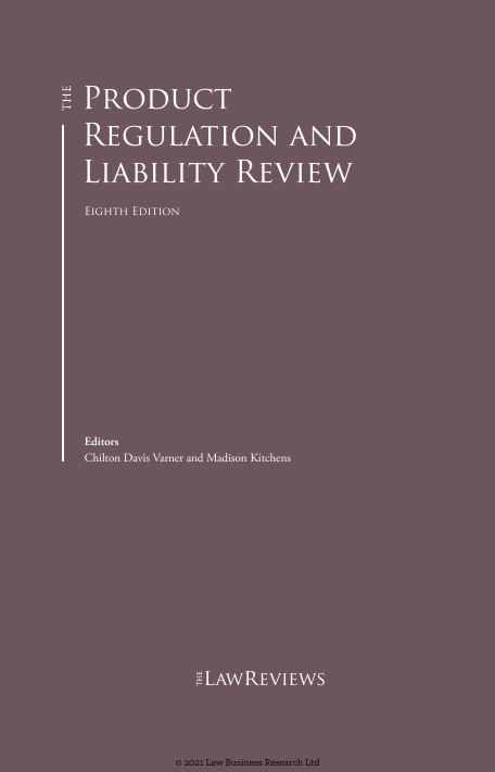 Switzerland Chapter, in: The Product Regulation and Liability Review 2021